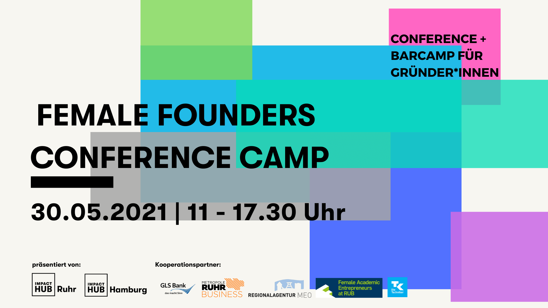 Female Founders Conference Camp