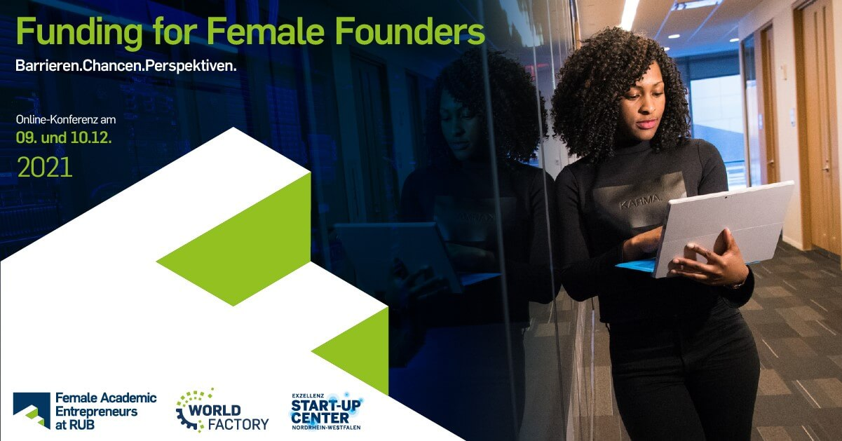 Save the Date: Funding for Female Founders
